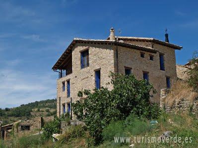 TURISMO VERDE HUESCA. Casa Bernat en Arén